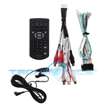 sony xav 601bt 6 1 lcd touchscreen car stereo receiver w bluetooth