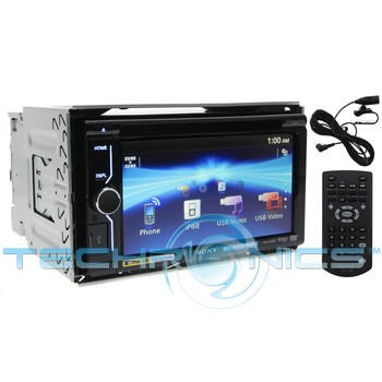 sony xav 601bt 6 1 lcd touchscreen car stereo receiver w. Black Bedroom Furniture Sets. Home Design Ideas