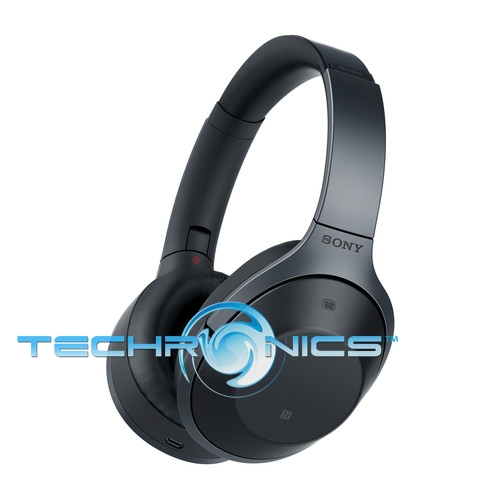 sony mdr 1000x bluetooth wireless over ear noise cancelling headphones black. Black Bedroom Furniture Sets. Home Design Ideas