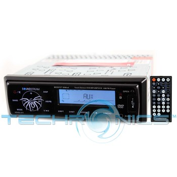 Buy Soundstream In-dash CD Players - Soundstream VDVD-311 In-Dash Single DIN CD, DVD, DivX Player with Full Function Remote