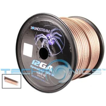 soundstream wrs 12 true 12 gauge speaker car audio cable wire