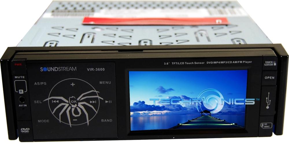 Soundstream VIR-7830B Single-Din Bluetooth Car