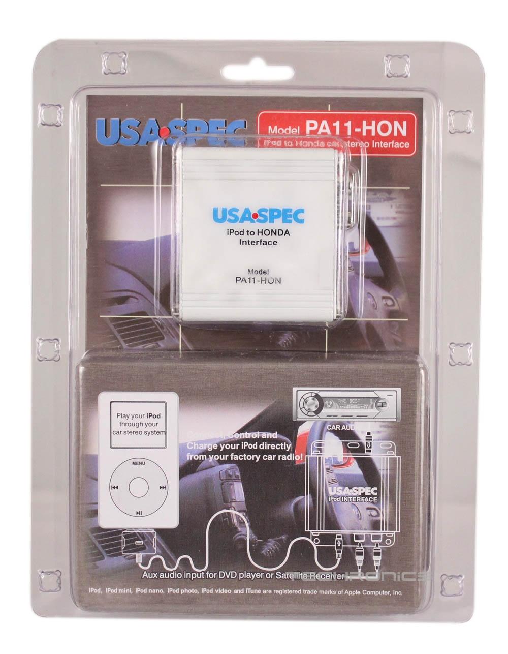 Usa Spec Pa11 Hon Car Audio Ipod Interface For Honda