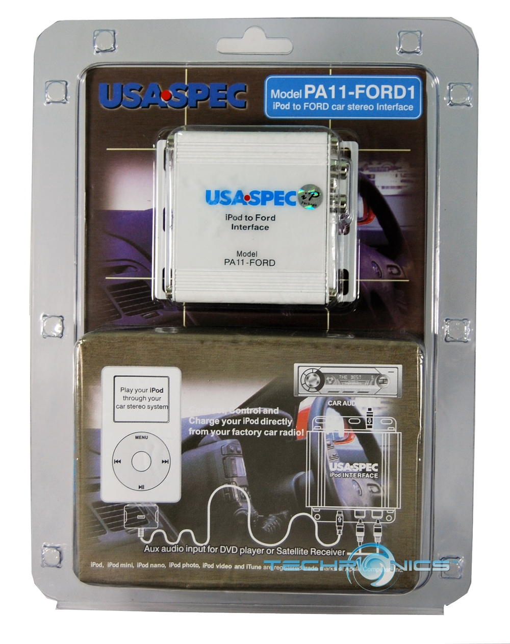 USA SPEC IPOD ADAPTER FOR FORD TO FACTORY STEREO SYSTEM