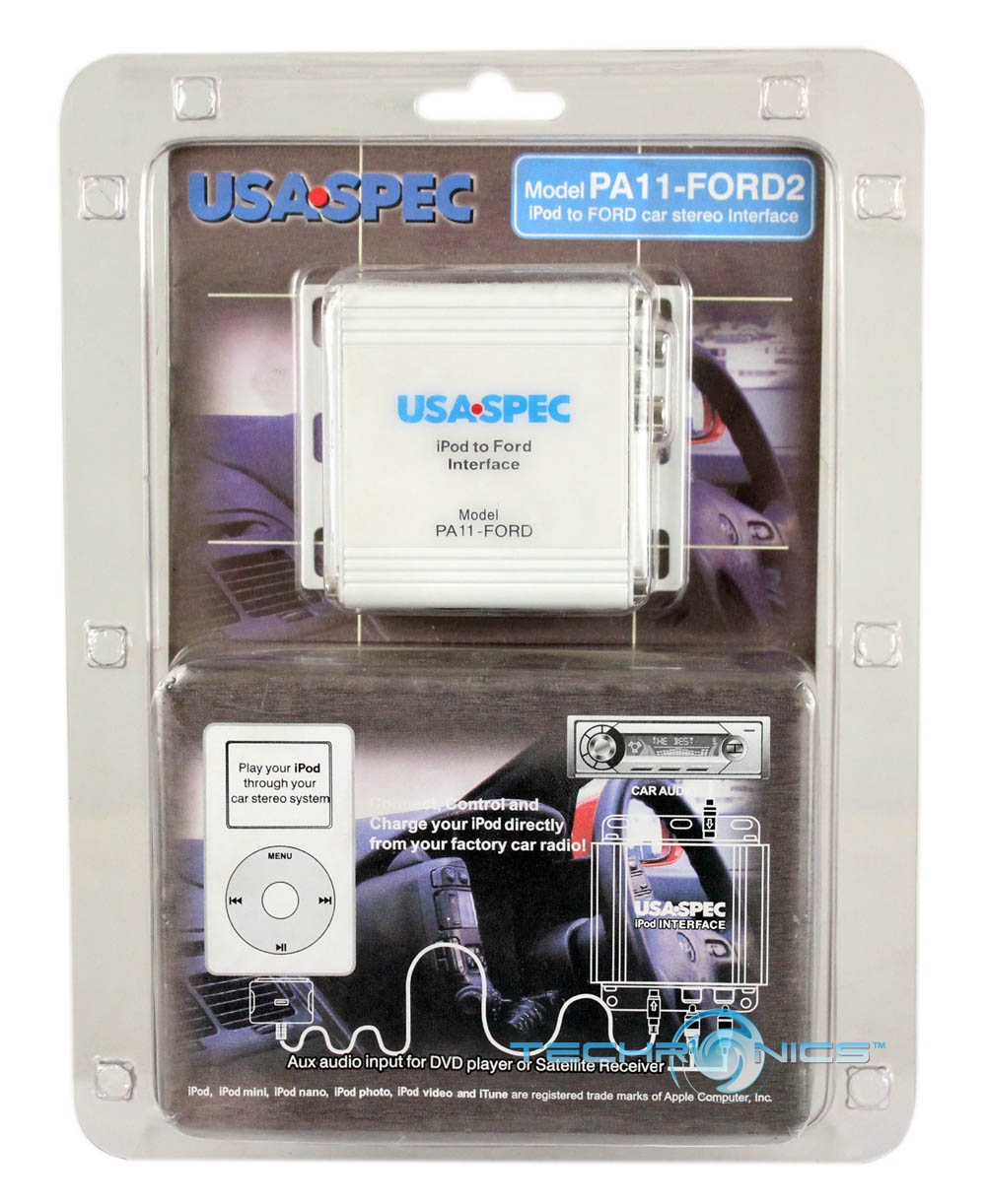 USASPEC PA11-FORD2 IPOD DIRECT CONNECTION INTERFACE FOR FORD FACTORY HEADUNITS