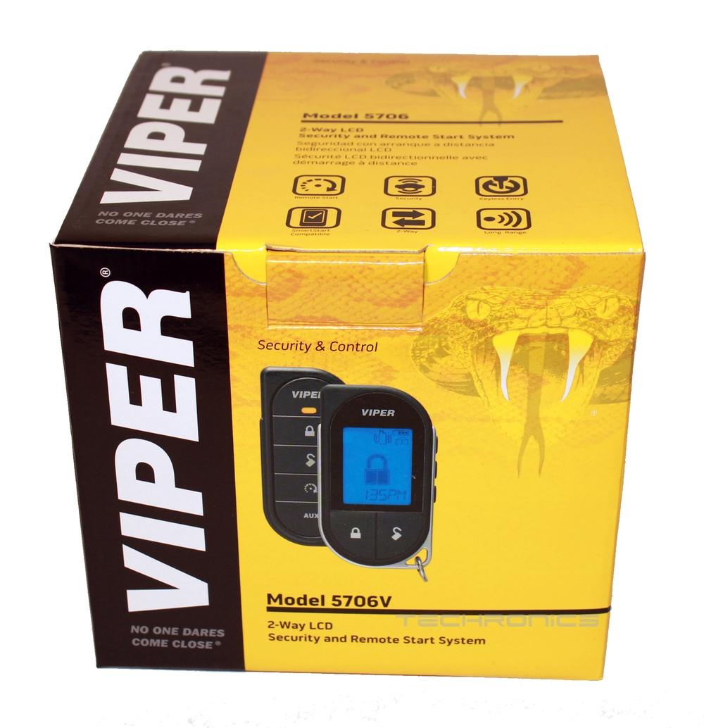 viper 5706v 2 way car vehicle security alarm remote start. Black Bedroom Furniture Sets. Home Design Ideas