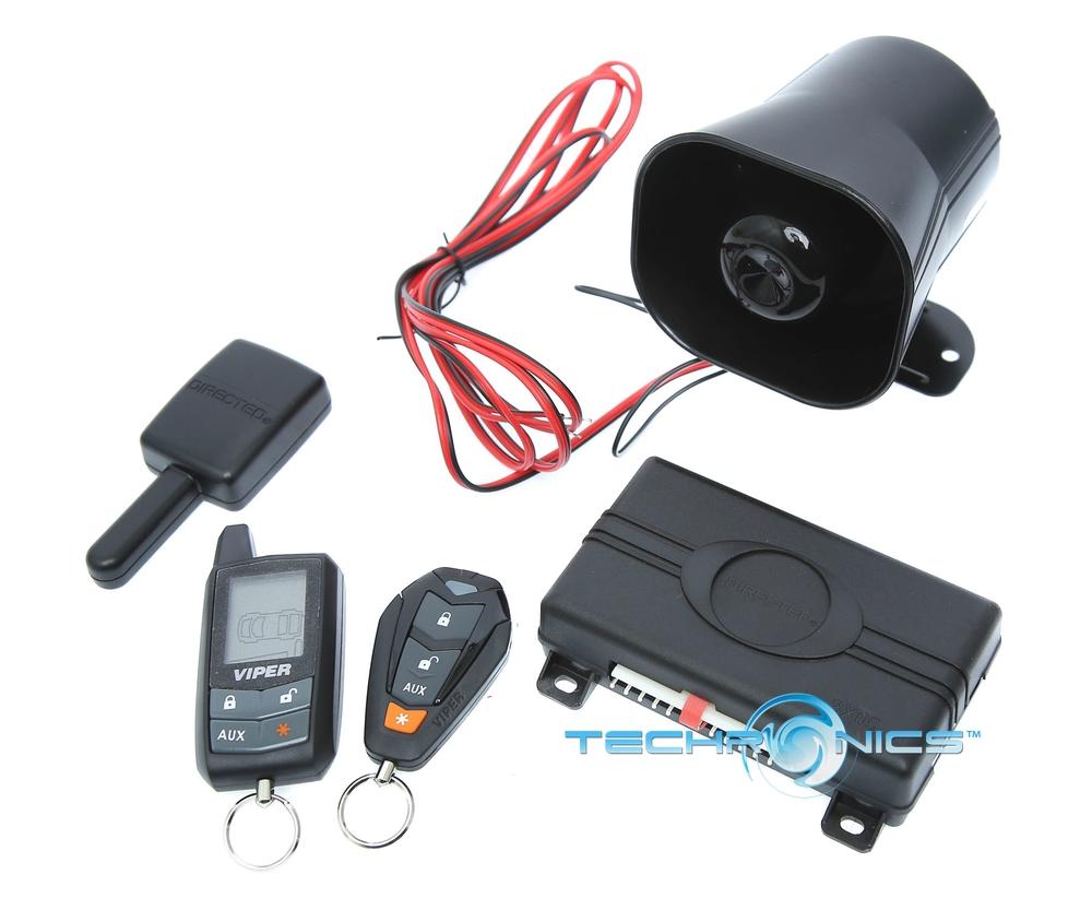 VIPER RESPONDER 3305V +2YR WRNTY KEYLESS ENTRY CAR AUDIO ALARM SECURITY SYSTEM