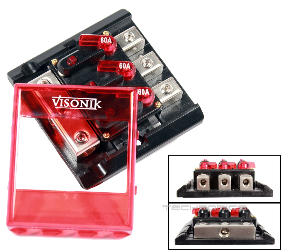 power distribution block circuit breaker for amplifier 2 4 ... visonik wiring diagram