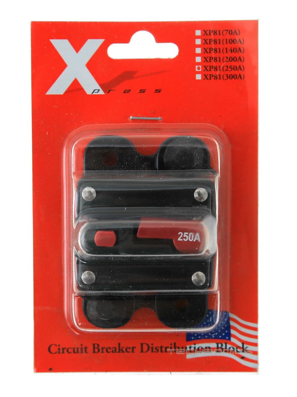 xpress xp81 250a amp circuit breaker fuse box 12 volt car. Black Bedroom Furniture Sets. Home Design Ideas