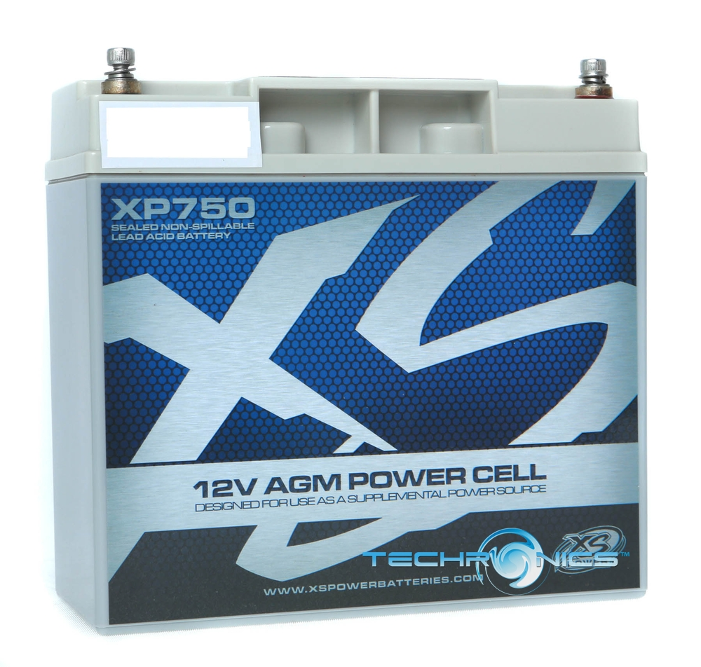 XS POWER XP750 +2YR WRNTY CAR AUDIO 750 AMPS 12V POWER CELL BATTERY + TERMINAL