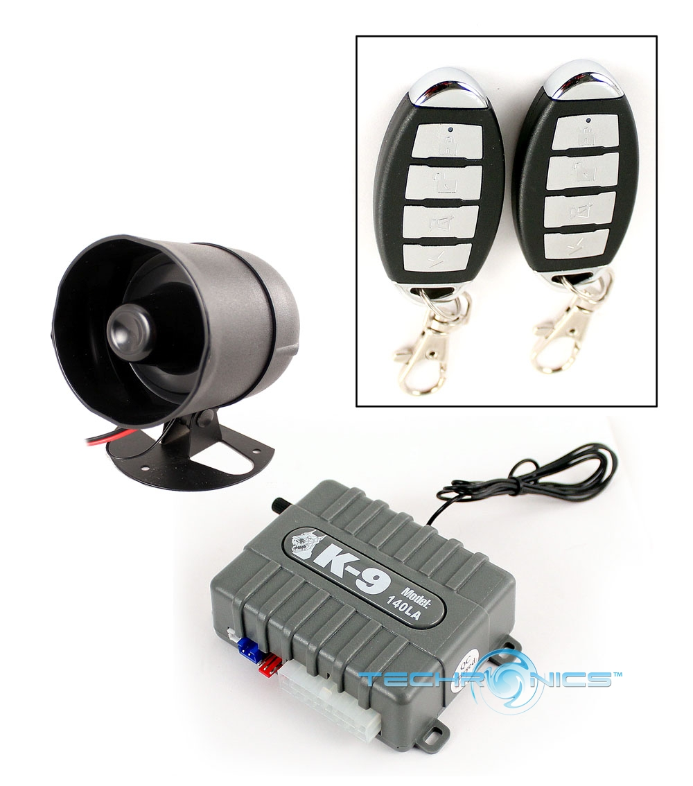 Omega K9 140la Car Alarm Vehicle Security Keyless Entry 8 Program Wiring Diagram Feature System